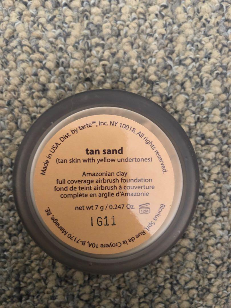 Tarte powder foundation