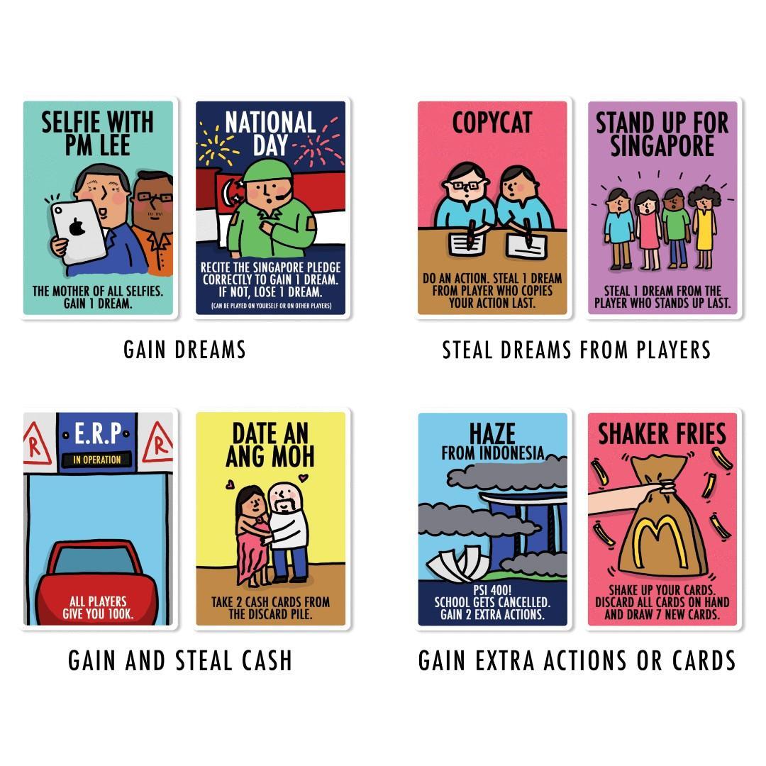 The Singaporean Dream Card Games