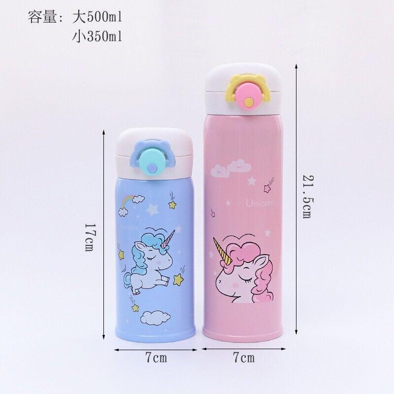 Unicorn Stainless Steel  Thermos Flask