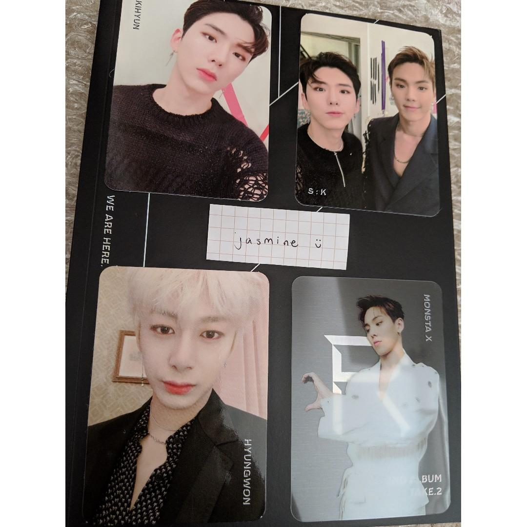 WTS Monsta X We Are Here PCs