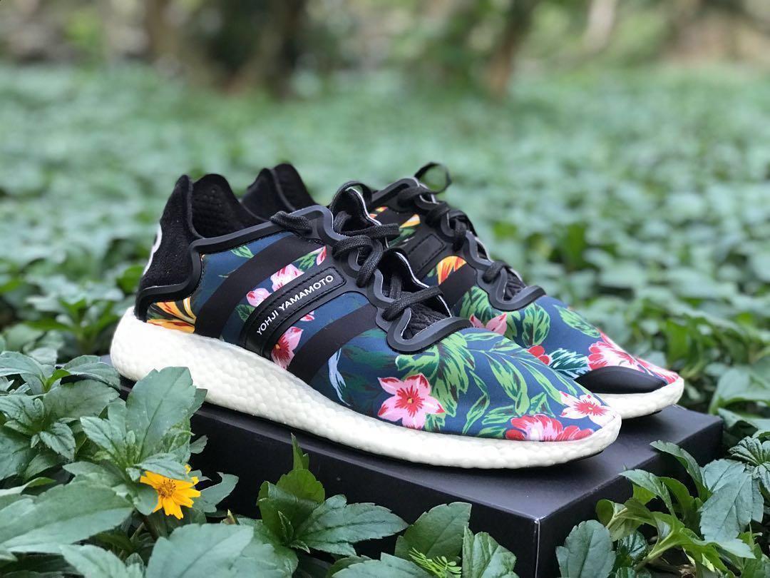 Y3, Adidas, Yohji Boost, Hawaiian Floral, B34320