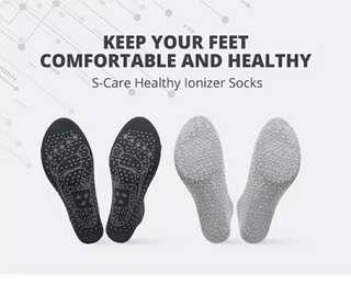 S-Care Healthy Ions Sock (with 3 Free Gift)