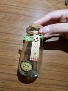 🚚 玻璃瓶 裝飾藝術 收納整理