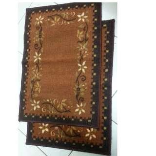 Heavy material  thick  soft fabric Floor 2Mats in RM30