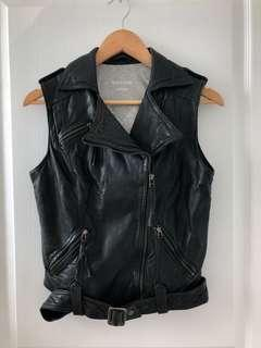 Authentic leather vest