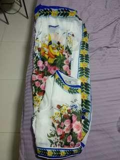 🚚 Long floral maxi chiffon
