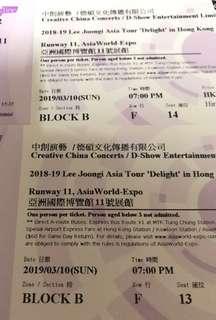 (300/2張)李準基《DELIGHT》亞洲巡迴演唱會