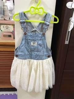🚚 oshkosh吊帶裙3T