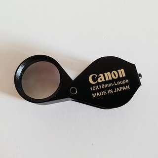 Thai Amulet Accessories: Canon 10X 18mm Loupe (Full HD) - 2 Layers Lens