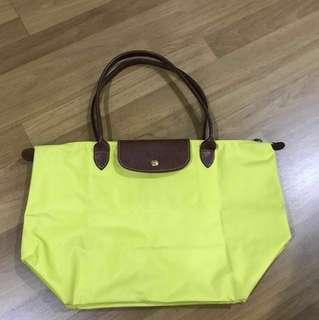 Original longchamp tote bag (large)