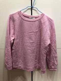 🚚 🇯🇵日牌Natural beauty basic 粉紅甜美毛衣