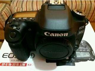 Canon eos 80d 18-55