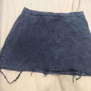 🚚 H&M Dark Grey Rugged Skirt