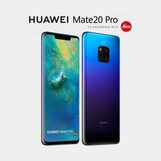 Huawei Mate 20 pro dual sim mint condition
