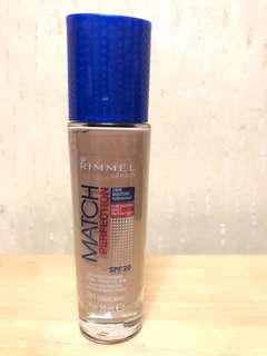Rimmel perfect match foundation 藍蓋