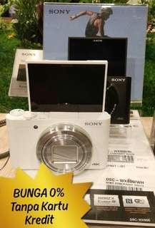 Bunga 0% SONY DSC WX800 Cicil Tanpa Kartu Kredit