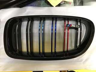 Bmw m performance stripe on grille!