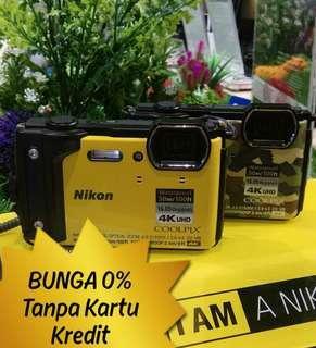 Bunga 0% NIKON Coolpix W300 Cicil Harga Promo