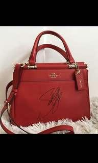 Coach by Selena Gomez signed bag