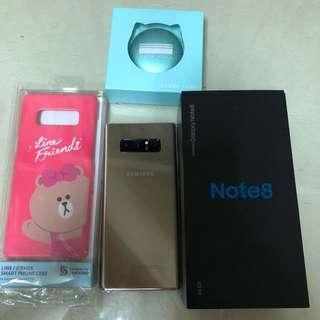 Note 8 64G金色