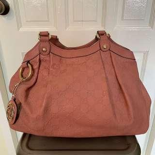 452922a9296 Gucci Blush Pink Guccissima Leather Medium Sukey Tote Bag