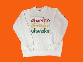 Benetton Crewneck Sweatshirt