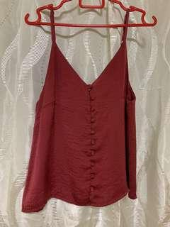 🚚 Cami Top/Red
