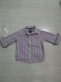 Est 1989 Place chequered polo 12 months