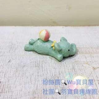 🚚 日本療癒系小物 擺飾 游泳小象