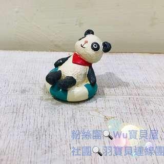 🚚 日本療癒系小物、擺飾 游泳貓熊