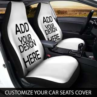 🎁 Customize your Car Seat Covers