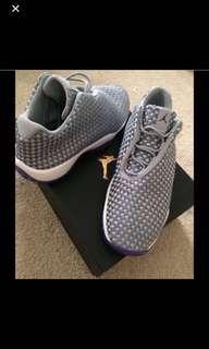 Grey and purple Jordan Futures