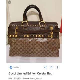Gucci Limited Edition Crystal Bag