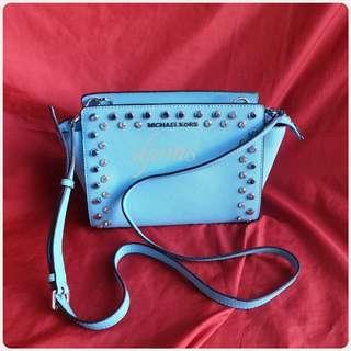 🛑Michael Kors Mini Selma Studs Crossbody Sling Bag