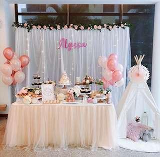 🚚 Dessert Table Set-up