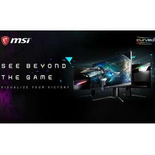 MSI Optix MAG321CQR Curved LED Gaming Monitor - PROMO!!