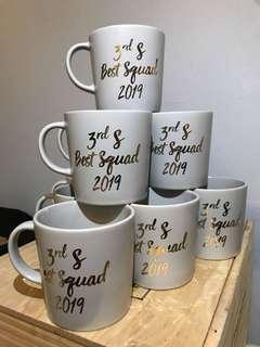 Customise Calligraphy Mugs