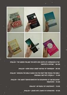 English Book! Buku Inggris TERMURAH!