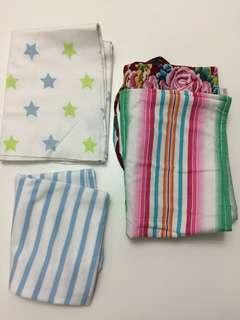 Baby diaper changing mat blanket swaddle 嬰兒