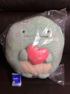 Toreba 抓樂霸 日本 景品 角落生物 恐龍 Sumikkogurashi - Soft Heart Plushy XL Part 2 B