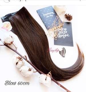 Hair clip 60cm blow