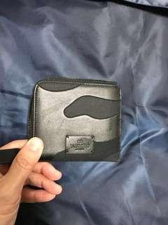 Authentic Valentino Black Camo Wallet