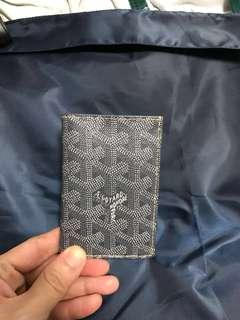 Authentic Goyard Grey Small Wallet