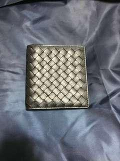 Authentic Black Bottega Wallet