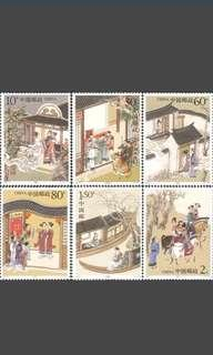🚚 Chinese postal stamps - strange stories 2003-9 ◇Free Gift◇