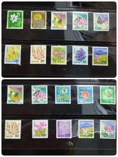 🚚 Japan postal stamps - 10pcs sale (Free Gift)