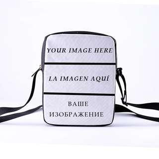 🆕🆒 DIY Customize Crossbody Bags new design messanger bag 3D Customize Personalized Pattern Ladies Crossbody bag 23x17x5cm