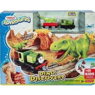 🚚 Brand New Fisher Pricw Thomas & Friends FBC67 Dino Discovery Set, Thomas the Tank Engine Toy Train Set, Adventures Toy Train, 3 Year Old