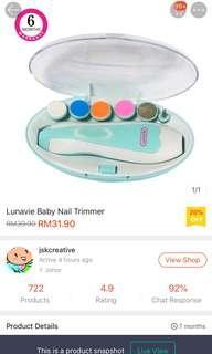 Lunavie Baby Nail Trimmer