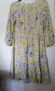H&M Flower onepiece dress